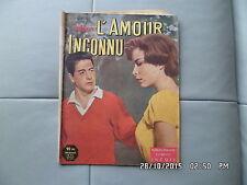 PHOTO ROMAN NOUS DEUX 1958 L'AMOUR INCONNU       I21