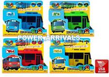 Tayo Rogi Rani Gani (4 pcs) The Little Bus TAYO Diecast Plastic Toy Car Set