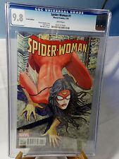 SPIDER WOMAN # 1 CGC 9.8 NM NEAR MINT MILO MANARA 1:50 LIMITED VARIANT COVER KEY