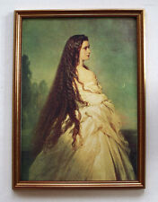 Sisi Sissi Elisabeth Kaiserin 1864 Österreich K&K Monarchie Faks 27 im Rahmen