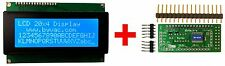 20x4 LCD Display Module With I2C & Serial and Keypad Controller