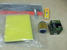 AIR + OIL FILTER + SPARK PLUG ELEMENT CLEANER TUNE UP KIT YAMAHA TT225 TT 225