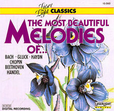 The Most Beautiful Melodies Of...  MUSIC CD
