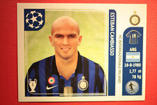 PANINI CHAMPIONS LEAGUE 2011/12 N 82 CAMBIASSO INTER WITH BLACK BACK MINT!!