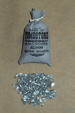 "1:6 scale ""BANK OF TOMBSTONE"" bag of silver nuggets"