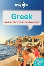 Greek Phrasebook and Dictionary by Lonely Planet (2016, Paperback)