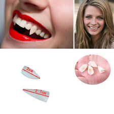 4pcs sexy adulte halloween love bite deluxe scarecrow vampire fangs petites dents