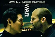 "War (Jet Li & Jason Statham) 27"" x 40"" Promotional Theatrical Movie Poster"