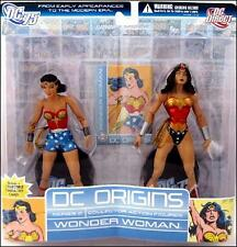 DC Origins series 2 WONDER WOMAN 6in Action Figure 2 pk DC Direct Toys