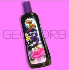 AUSTRALIAN GOLD CHEEKY BROWN NATURAL DARK BRONZER TANNING BED LOTION ~FAST SHIP!