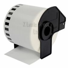 1x Brother Compatible DK22205 Printer Labels 62mm Roll+Spool for QL-560 QL-570
