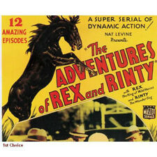 Adventures of Rex and Rinty -  Movie Cliffhanger Serial DVD Rin Tin Tin