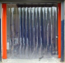 PVC strip curtain / door set, free flow, 1000mm x 2200mm + any size made 2 order