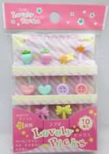 Japanese BENTO LUNCH accessories LOVERY PICKS 10 pcs japan bento lunch box