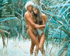 Christopher Atkins & Brooke Shields UNSIGNED photo - P2312 - The Blue Lagoon