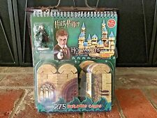 NEW SEALED KLUTZ HARRY POTTER HOGWARTS BUILDING CARDS SET W/POTTER FIGURE