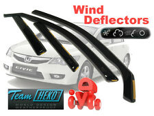 Honda Civic 2006-2013 Saloon Wind Deflectors 4 pcs HEKO (17135)