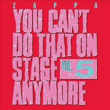 FRANK ZAPPA**YOU CAN'T DO THAT ON STAGE ANYMORE: VOL. FIVE**2 CD SET