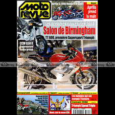 MOTO REVUE N°3399 TRIUMPH 955 SPEED TRIPLE YAMAHA XVS DRAGSTAR HONDA FX 650 1999
