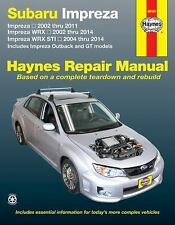 Haynes Repair Manual: Subaru Impreza and WRX Automative Repair Manual : 2002...