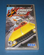 Crazy Taxi Fare Wars Sony PSP FACTORY SEALED **FREE SHIPPING**