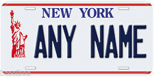 New York Liberty 1986 - 2000 Any Name Novelty Car License Plate
