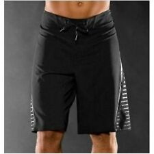 NEW MENS BLACK OAKLEY LOCK BLOCK LONG SWIM BOARD BERMUDA SURF SHORT SMALL 28/30