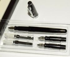 BEGINNERS CALLIGRAPHY FOUNTAIN PEN  3 STAINLESS STEEL NIBS & A  INK CARTRIDGE