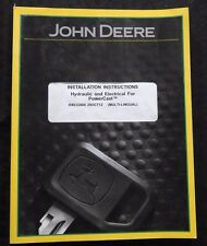 JOHN DEERE CTS STS COMBINE POWERCAST HYDRAULIC & ELECTRICAL INSTALLATION MANUAL
