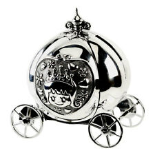 Silver Plated Cinderella Coach Carrriage Money Box CG458