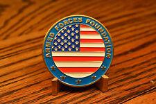 Armed Forces Foundation USA USN USMC USAF USCG Challenge Coin