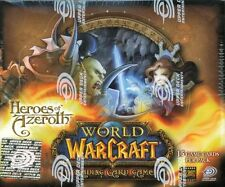 WOW TCG - Factory sealed English Heroes of Azeroth booster box!