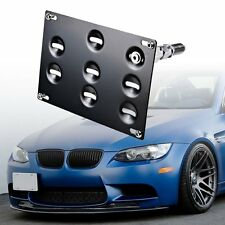 Front Bumper Tow Hook License Plate Mounting Bracket Holder For BMW 1 3 5 X5 X6