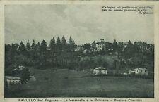 Z9523-PAVULLO NEL FRIGNANO, LA VERZANELLA E LA PALAZZINA, STAZ. CLIMATICA, 1931
