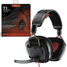 NUOVO Plantronics GameCom 788 USB GAMING STEREO HEADSET 7.1 SURROUND SOUND PER PC