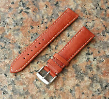 New Genuine Soft Calf Leather Interchangeable Watch Strap Band timex woman men