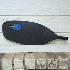 "HARMONY REPLACEMENT KAYAK CANOE PADDLE HEAD RAPID PASSAGE BLACK 18""X7.5"" PLASTIC"