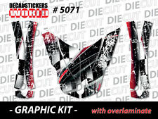 *NEW* CAN-AM SPYDER RT HOOD FENDERS WRAP DECAL STICKER GRAPHICS KIT 5071