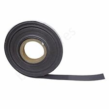 Self Adhesive Strong Flexy Magnetic Tape Sticky Backed Magnet Strip 25mm x 10m
