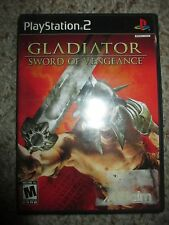 Gladiator: Sword of Vengeance (Sony PlayStation 2, 2003) Complete ps2