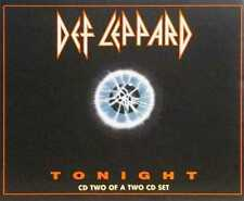 Tonight by Def Leppard UK CD Single Mercury - Like New Condition