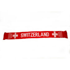 SWITZERLAND RED COUNTRY FLAG  THICK SCARF.. NEW