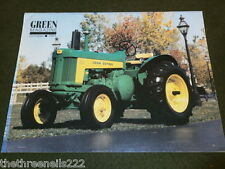 JOHN DEERE - GREEN MAGAZINE - OCT 1994 VOL 10 # 10 - MODEL 720 TRACTOR