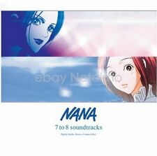 New 0763 NANA 7 to 8  SOUNDTRACK CD Music Songs Anime Game