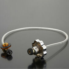 1 Pc Camping Coupler Adapter Propane Refill Lp Gas Flat Cylinder Tank