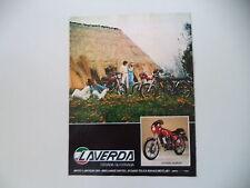 advertising Pubblicità 1980 MOTO LAVERDA LZ 125 SPORT