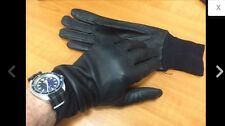 NEW BRITISH ARMY COMBAT GLOVES BRITISH-MADE LEATHER WORK GLOVE, SIZE 8 [25003]