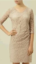 Unwanted gift Planet Lace Dress in Nude  Uk8 BNWT Rrp119.Formal/Party/Wedding