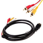 1.5M 5ft HDMI To 3-RCA  Audio AV Component Converter Adapter Cable