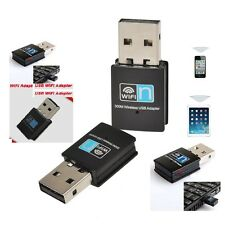 Mini USB WiFi Dongle Adaptador De Red Adaptador Inalámbrico 300 Mbps Wifi 802.11 B G N